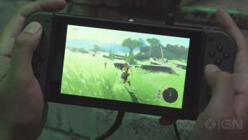 ニンテンドースイッチ/WiiU 「ゼルダの伝説ブレスオブザワイルド」ニンテンドースイッチ携帯モード時の直撮りプレイ映像が公開!サクサク動いていて安心したwww