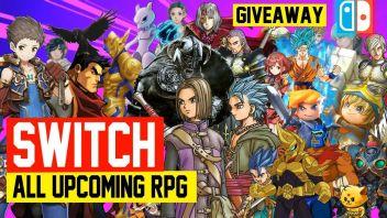 ニンテンドースイッチ向けリリース『RPG』タイトルまとめ動画が公開!
