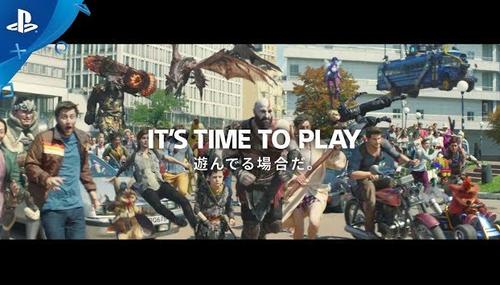【動画】「IT'S TIME TO PLAY 遊んでる場合だ。」  PS4、新CMが豪華過ぎる件wwww