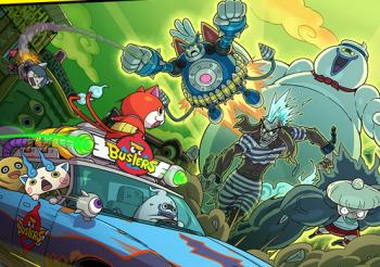 3DS「妖怪ウォッチバスターズ 赤猫団・白犬隊」 公式サイトオープン、プロモーションムービーが早速公開!!