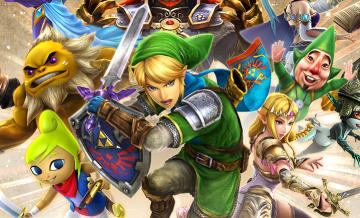 3DS「ゼルダ無双 ハイラルオールスターズ」 公式サイトオープン、E3トレーラー & 3DS版スクリーンショットが公開!