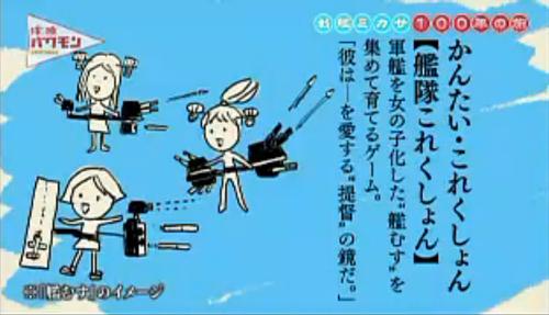 NHKで放送された「艦これ」のイメージ画像がひどい 大人の事情でゲーム画像は使えず