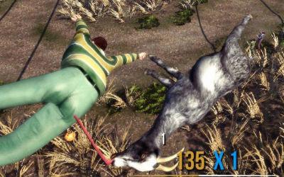 ヤギで大暴れするゲーム「Goat Simulator」で遊んでみたwww 破壊の衝動に目覚めたときにちょうどいいかもしれない