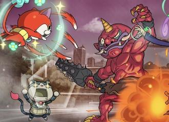 3DS「妖怪ウォッチ2 元祖/本家」 通信機能を使った協力プレイ、新システム『妖怪ウォッチバスターズ』情報詳細が公開!!