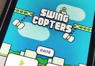 「Flappy Bird」作者の新作「Swing Copters」、さっそくパクられまくるwwww