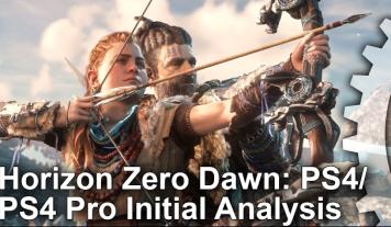 「Horizon Zero Dawn」 PS4 / PS4 Pro フレームレート解析動画公開!大きな差は出ない模様、ムリしてProに拘る必要なし!!