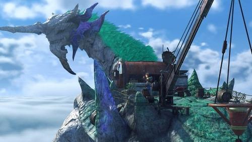 Switchで発売される『ゼノブレイド2』のフィールドが素晴らしい!!!