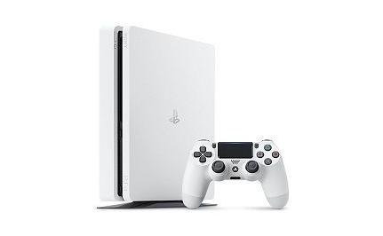 PS4Pro新色 グレイシャー・ホワイト が本日より販売開始!