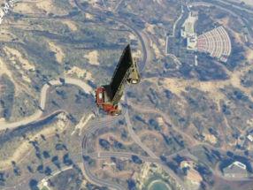 「GTAオンライン」でフラーーーーーーーイ!! 実践可能なグリッチで空を飛ぶ! なぜかいすゞのテーマソングに載せた爆笑感動必見動画!!