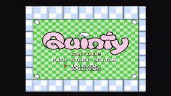 ゲームフリークのデビュー作「クインティ」がWii Uバーチャルコンソールに登場!!