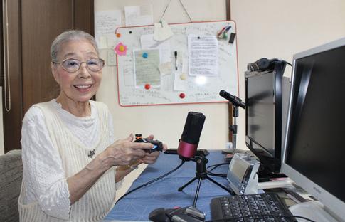 【朗報】89歳のおばあちゃんゲーマーYouTuber、登録者40万人超えwwww
