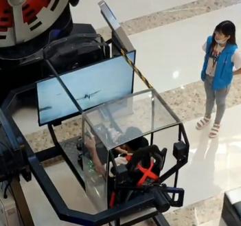 【動画】中国人さん、とんでもないフライトゲームを開発してしまう w w