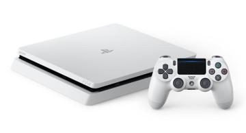 PS4 Slim 新色「グレイシャー・ホワイト」 予約開始!数量限定で2/23発売