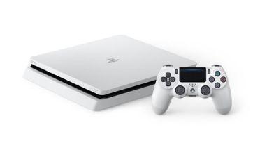【速報】PS4 Slim 新色「グレイシャー・ホワイト」 が発表、2/23より発売開始!!