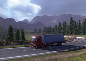 中毒者多数のリアル運送業ゲーム「Euro Truck Simulator 2」に待望の大規模アップデート到来!! ヴェネツィア追加、コンピュータ車AI強化などなど
