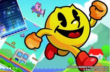 【衝撃】楽天、スマホ・PC向けゲーム事業に参入!人気ゲーム「パックマン」や「スペースインベーダー」などを基に開発した15作品を用意!!