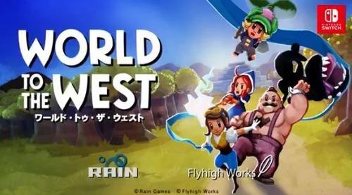 フライハイワークス新作「World to the West」がスイッチで来週配信決定!