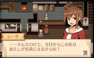 (3DS DL販売ランキング)「不思議の国の冒険酒場」が急上昇!経営冒険RPG、648円のお手頃DL専売、要チェック!!