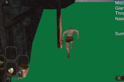 「ダークソウル2」 遠眼鏡バグを使ったスピードクリア記録がまたまた更新! 20分でゲーム終わらせます