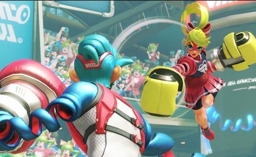 【ARMS】Switch『スマブラ』へのARMS参戦に関して矢吹氏「まだ早すぎる」4/5まで無料で遊べる『春休みオンライン体験会』も開催!!