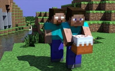 それではここでPE版とPS Vita版の「Minecraft」を見てみましょう