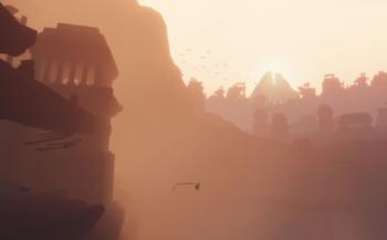 PS4版「風ノ旅ビト(Journey)」 序盤の広大な砂漠探索を収録したプレイ映像