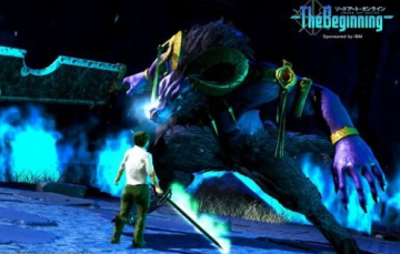 【VR】IBMのαテスト版『ソードアート・オンライン』のゲーム画面、クオリティが凄すぎる!!