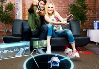 PS4「プレイルーム」無料ダウンロードコンテンツ「ニンジャボット」の配信スタート!忍者に変装したARボットを操作してたくさんの小判を集めよう