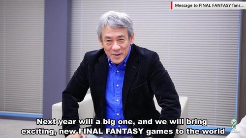 スクエニ橋本氏 「来年はFF31年目。新しいファイナルファンタジーを出します!」