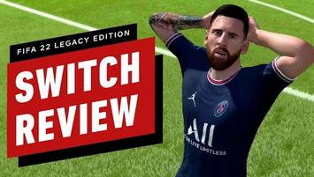 Switch版「FIFA22」、IGNレビューが衝撃の点数ww