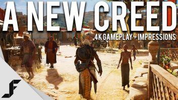「Assassin's Creed Origins」4Kプレイ映像が公開!