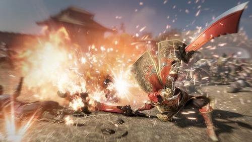 PS4「真・三國無双8」追加武器DLC第1弾「火塵双刀(かじんそうとう)」アクション動画が公開!粉塵を設置&爆発させる,孫堅の得意武器