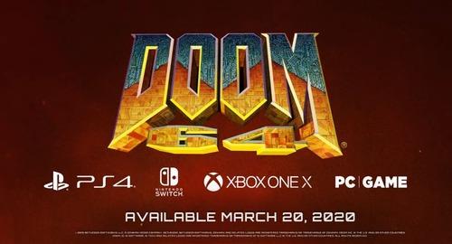 【全機種確認】「DOOM Eternal」予約特典ボーナス「DOOM 64」アナウンストレーラーが公開!PS4/Xb1/PC向けに3/20リリース、Switch版は後発