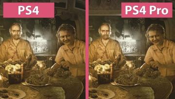 「バイオハザード7 レジデント イービル」 PS4/PS4Pro版 比較動画が公開 !けっこう違う?変わらない??