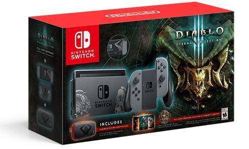 Switch「ディアブロ3 Limited Edition」発売決定!『ディアブロ3 ETERNAL COLLECTION』デザインの本体同梱版、紹介映像も公開!カッコイイ!!