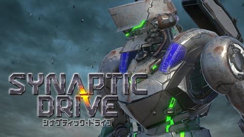 【カスタムロボ】3D対戦STGアクション『Synaptic Drive』がSwitch向けとして発表!【見城こうじ】