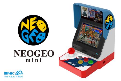 """NEOGEO mini""が正式発表! SNK名作・傑作タイトルを40作内蔵、3.5インチ液晶とコンパネを備え,HDMI出力端子もあり!!"