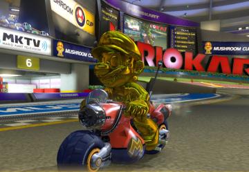 【管理人レビュー】「マリオカート8 DX」 完成された面白さ!ゴールドマリオ出したよー ( ´・ω・)y─┛~~~oΟ◯