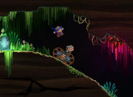 PS4向け新作アクション「Chariot」が今秋リリース!名作『洞窟物語』を彷彿とさせる洞窟探索2Dアクション!!