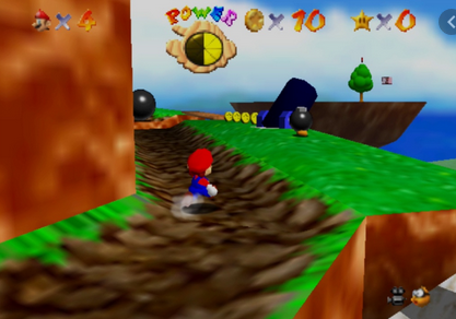 「スーパーマリオ64」に砂漠のステージがあるのを今まで知らなかったんだが