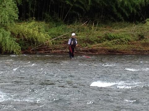 7月~8月 鮎釣り 海部川の巻