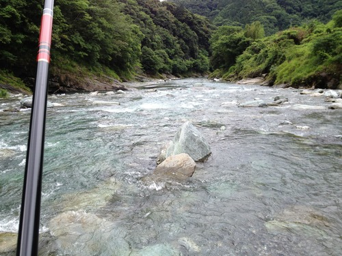 徳島一番の清流 穴吹川