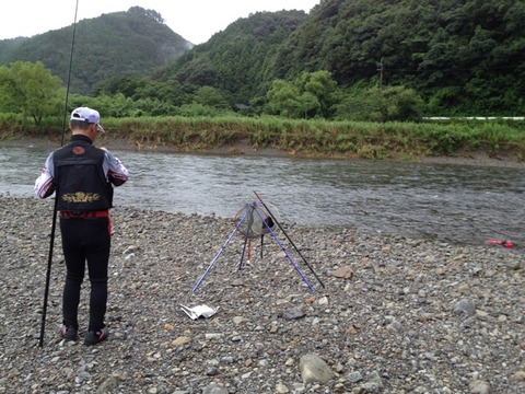 2012.8.5 海部川 リベンジ