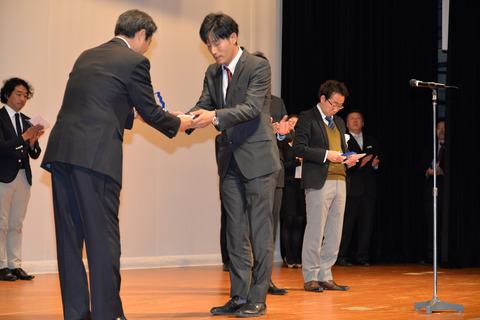 デザインコンテストアモーレ茅原さん銀賞受賞