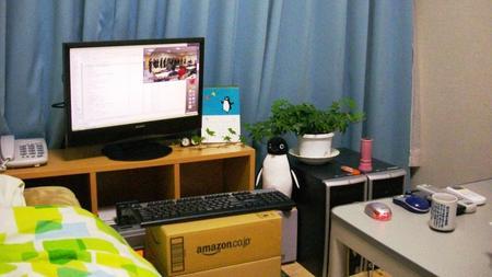 お洒落な部屋(パソコン周り)画像-076
