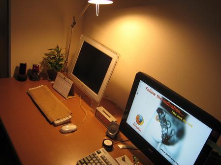 お洒落な部屋(パソコン周り)画像-056