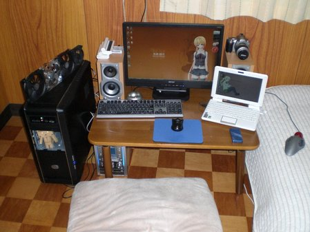 お洒落な部屋(パソコン周り)画像-247