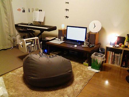 お洒落な部屋(パソコン周り)画像-616_2