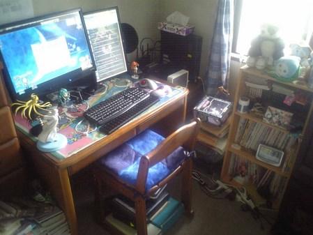 お洒落な部屋(パソコン周り)画像-856_1