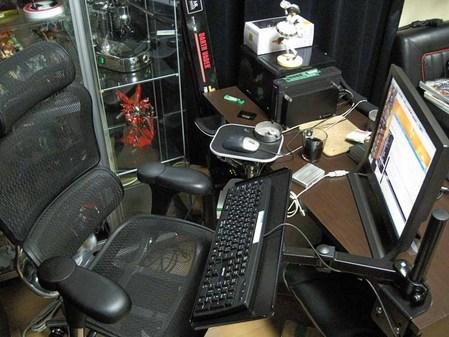 お洒落な部屋(パソコン周り)画像-550
